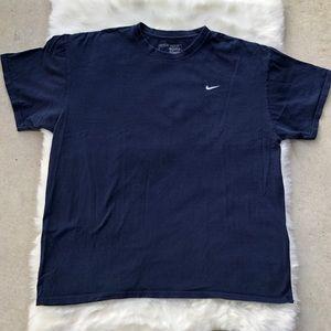 Nike tee shirt T-shirt Sz XL blue short sleeve